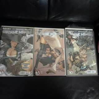 Top Cow Comic Madame Mirage #1-6 (Complete Series) + Preview VF/NM by Paul Dini &  Kenneth Rocafort !