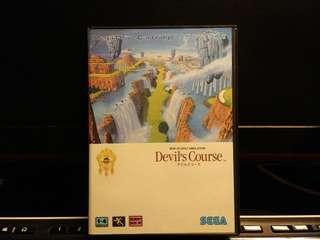 Sega MD - Devil's Course 3D Golf