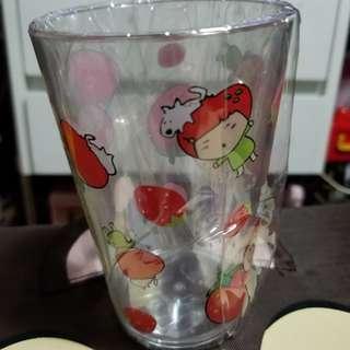 韓國士多啤梨頭公仔膠水杯