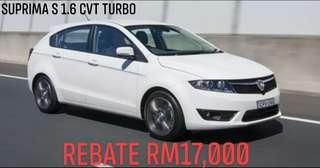 Suprima S 1.6 CVT Premium Turbo