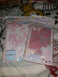 Sanrio Melody 衣服 壓縮袋 行李保護套