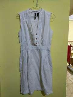 Dress mango white