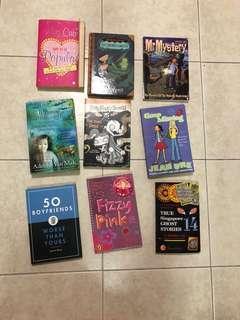 a lot of children's books