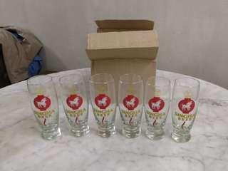 Singha Beer Glass Set (6pcs) #midsep50