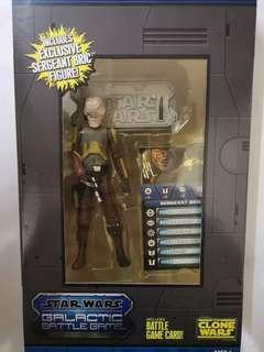 HASBRO STAR WARS THE CLONES WARS SERGEANT BRIC