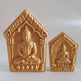 LP Tim / Khun Paen Phrai Kuman Nang Kwak (Set) / Wat Lahanrai / BE 2559