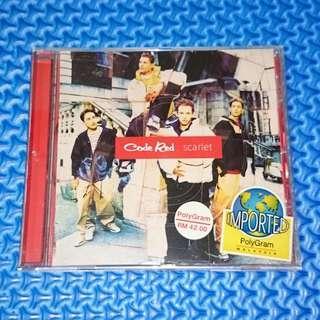 🆒 Code Red - Scarlet [1996] Audio CD