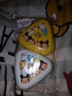 Disney Tsum Tsum  飯團盒 食物盒