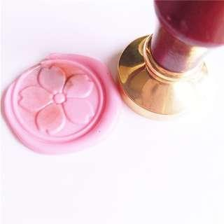 Sakura Wax Seal Stamp樱花章