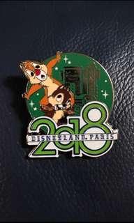 Disney Chip & Dale pin