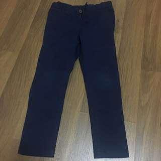h&m slim fit cotton pants