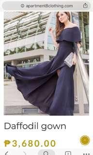 APARTMENT 8 off shoulder gown
