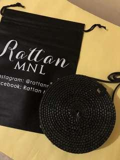 On hand! 20cm classic black ~ Leather clip 🌼