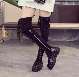🚚 綁帶靴子37號