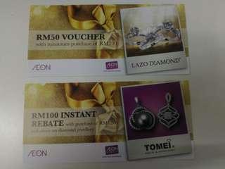 TOMEI & LAZO Diamond Voucher RM20