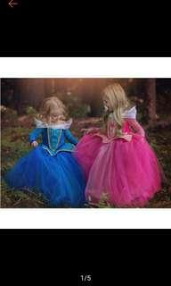 Kid Flower Girl Princess Dress Pageant Dance Ball Gown Party