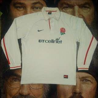 NIKE England Ls rugby shirt rugbi jersey