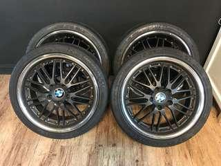 """WTS: USED 18"""" BMW Rims & Michelin Tyres"""