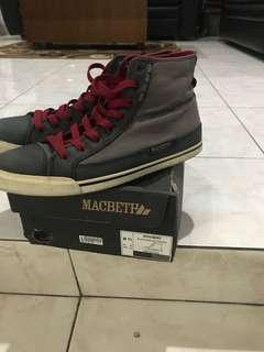 macbeth schubert red laces size 11/45 rare