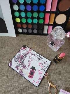 Victoria Secret Print Card Holder Pouch