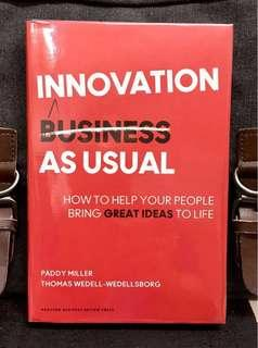 #3×100《NEW! + Harvard Business Review Hardcover + How To Create A Sustainable Innovative Culture At Work》Paddy Miller & Thomas Wedellsborg - INNOVATION AS USUAL : How to Help Your People Bring Great Ideas To Life