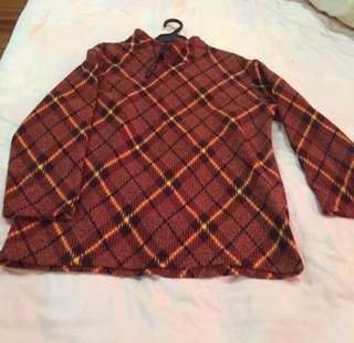 Preloaded winter shirt