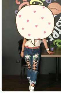 Celana jean pita