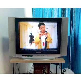 Samsung SlimFit CRT TV with Turbo Plus Sound