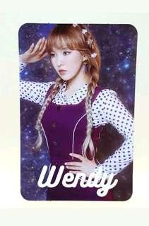 Red Velvet #Cookie Jar ( wendy ) official photocard ~