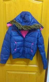 🚚 Lee紫色羽絨外套