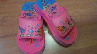 Pink Ocean-Themed Shoes for Kids