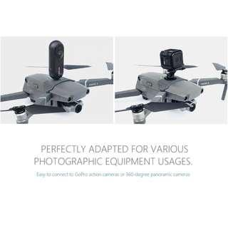 🚚 PGYTECH Connector GoPro Mount Adapter Action Sports Camera for DJI MAVIC 2 PRO / ZOOM Drone Accessories