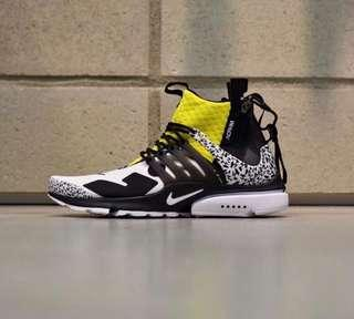 Us 9 Acronym Presto Mid Dynamic Yellow