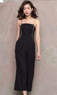 BN young hungry free chain jumpsuit