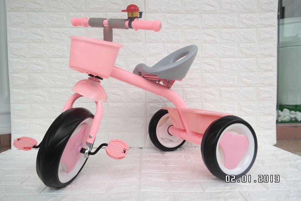 718 3 Wheel Bicycle Babies Kids Toys Walkers On Carousell