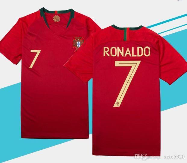 save off 140c2 60eee Authentic Cristiano Ronaldo Portugal Jersey, Sports, Sports ...