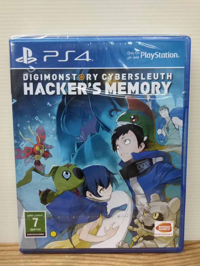 Brand New) PS4 Digimon Story: Cyber Sleuth - Hacker's Memory