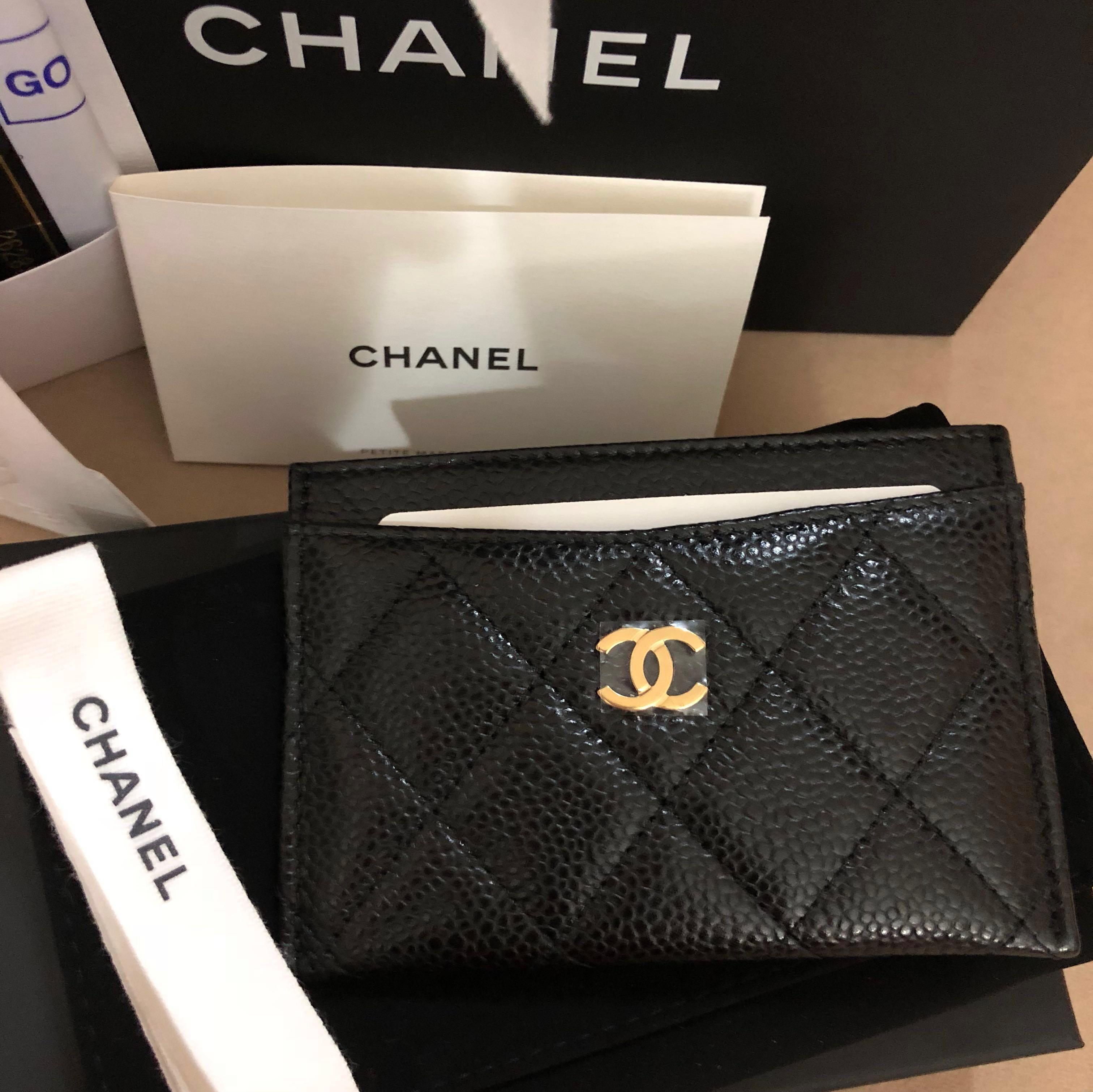 42893de64dd1 Chanel Classic Card Holder, Luxury, Bags & Wallets, Wallets on Carousell