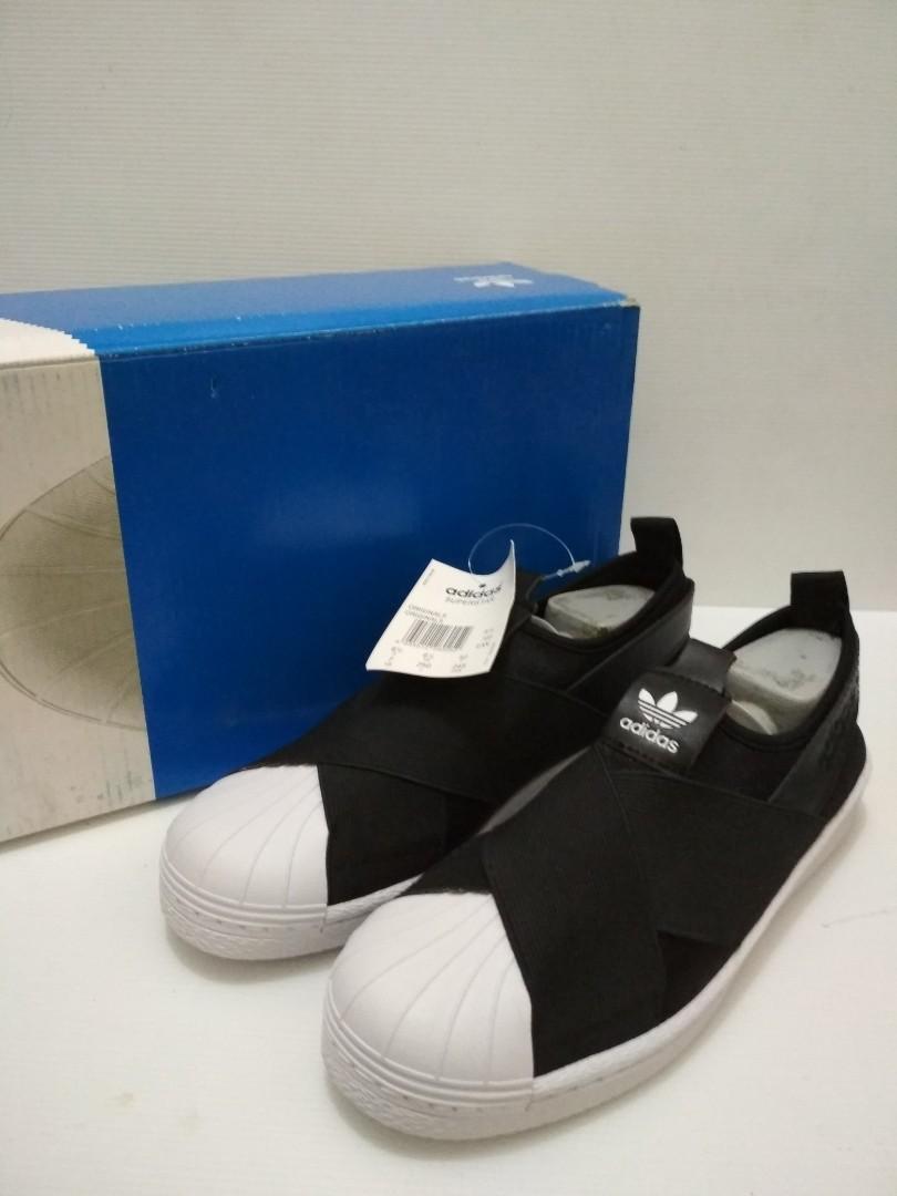 Cuci gudang Adidas superstar slip on