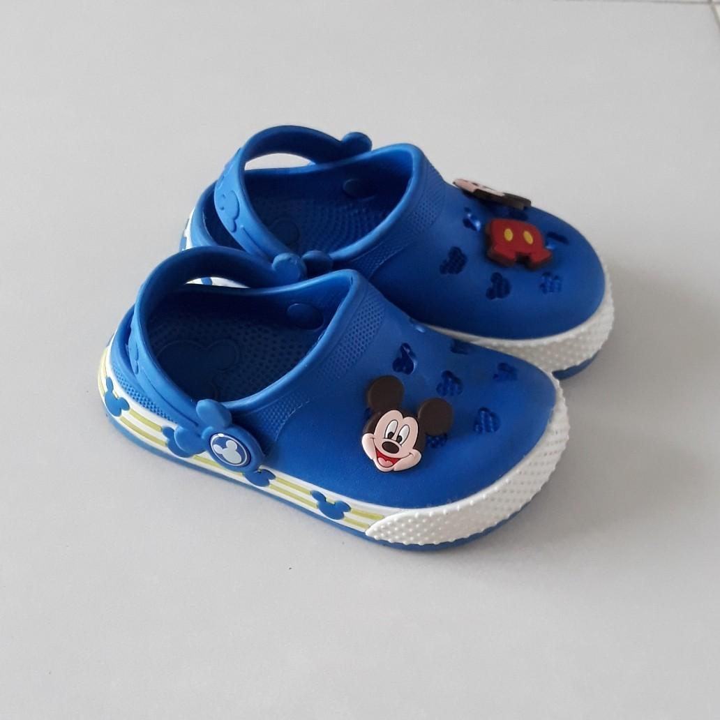 Disney Baby/Toddler Mickey Mouse Crocs Walking Clog Sandals