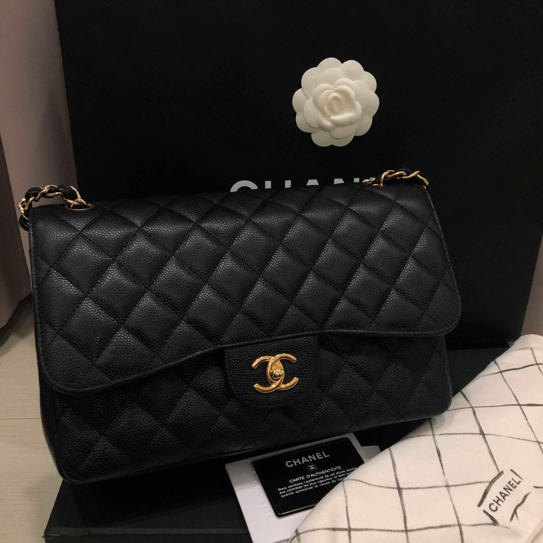 a65292ac5e9c32 FAST DEAL THIS WEEKEND Chanel Jumbo SHW, Luxury, Bags & Wallets ...