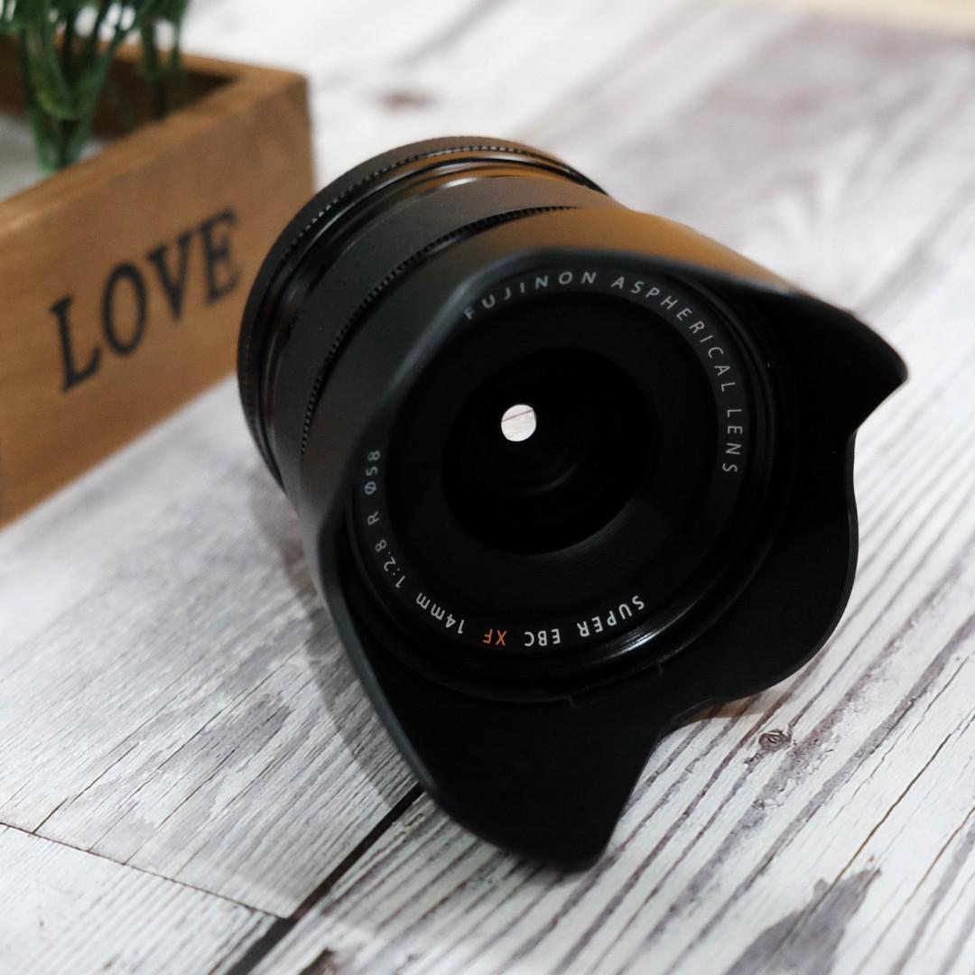Fujifilm Xf 14mm F28 Fujinon Fuji Photography Lenses On Carousell Xf18mm F 20 R Lens