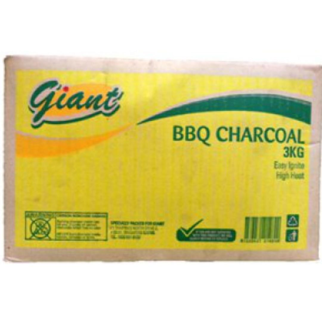 GIANT Charcoal 3kg for bbq / barbecue