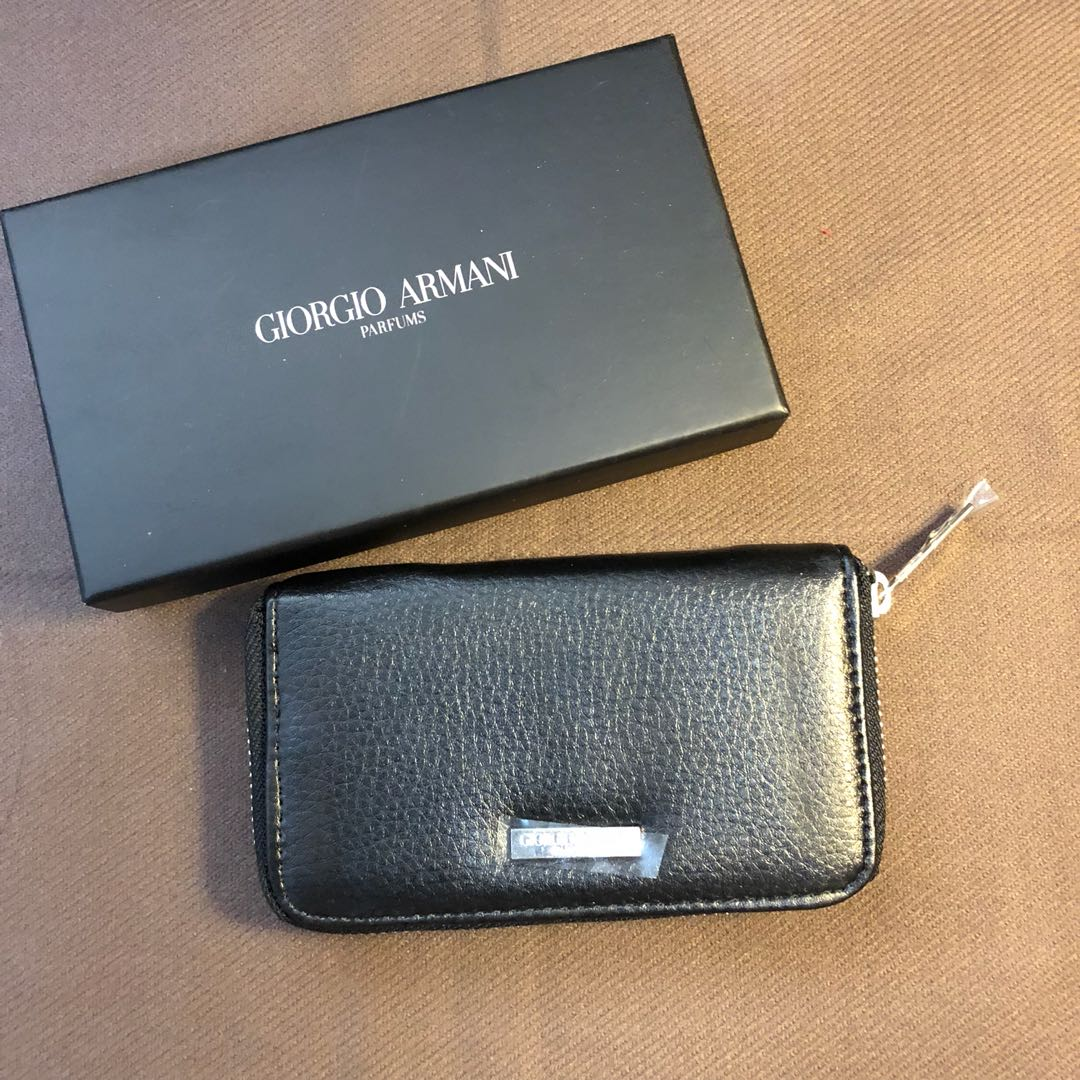 Wallet Key Giorgio Card Armani Holder xsQdrCth