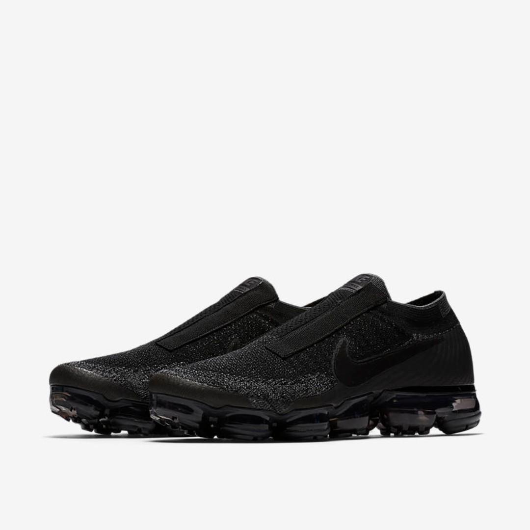 064027fe911 🔥In Stock🔥 UK9   US10 Nike Air Vapormax Flyknit Laceless Black ...