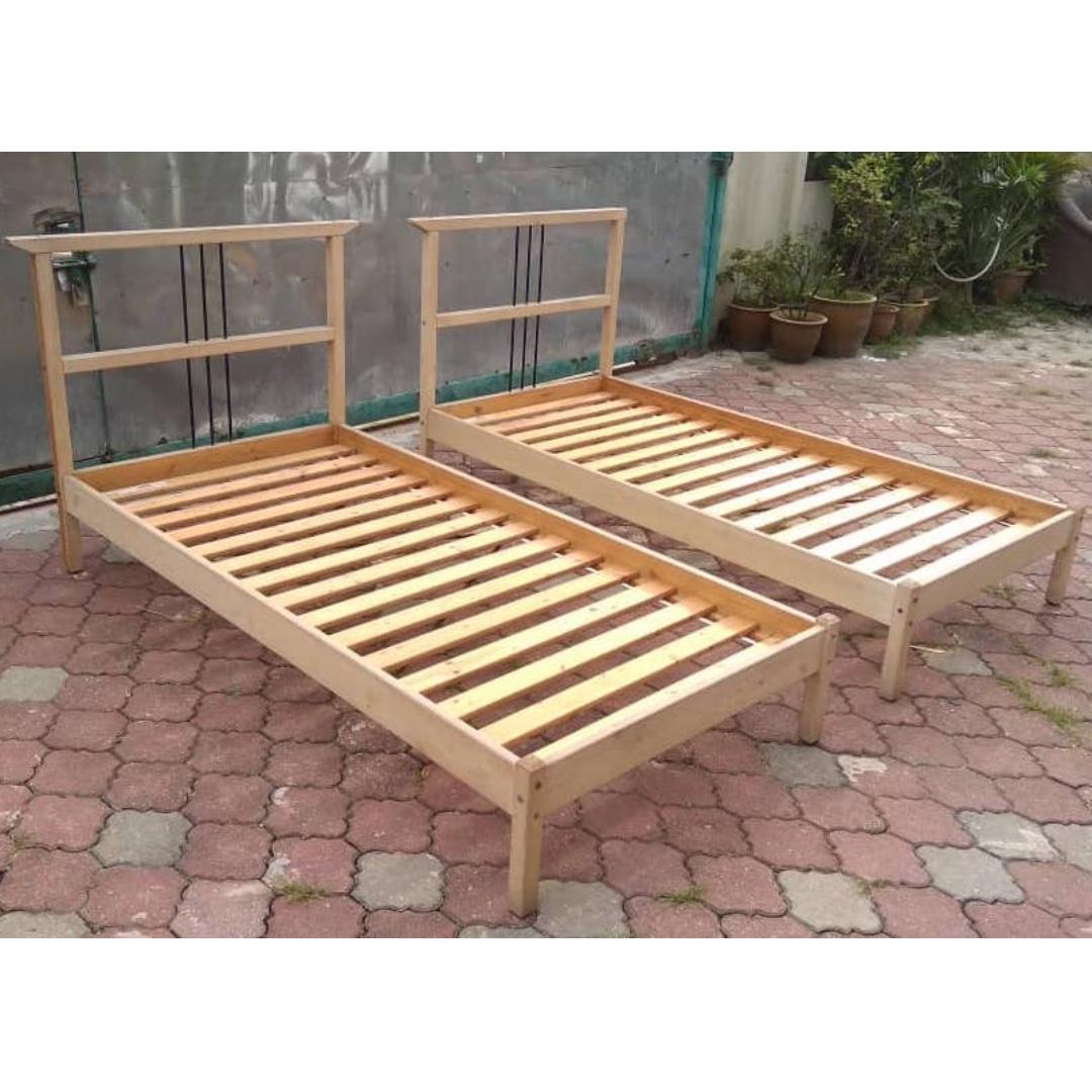 Katil Bujang Ikea Tarva Single Bed