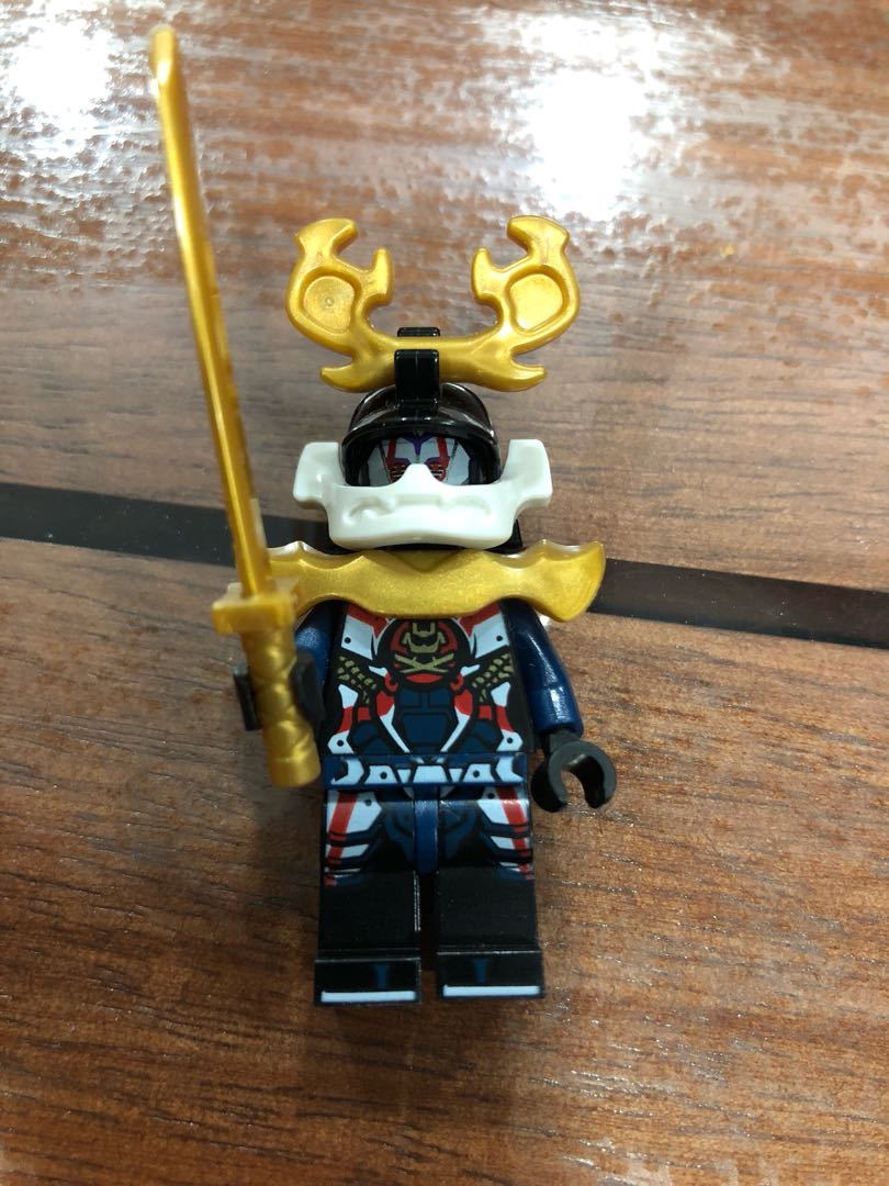 Lego Ninjago Samurai X Pixal Toys Games Bricks Figurines On