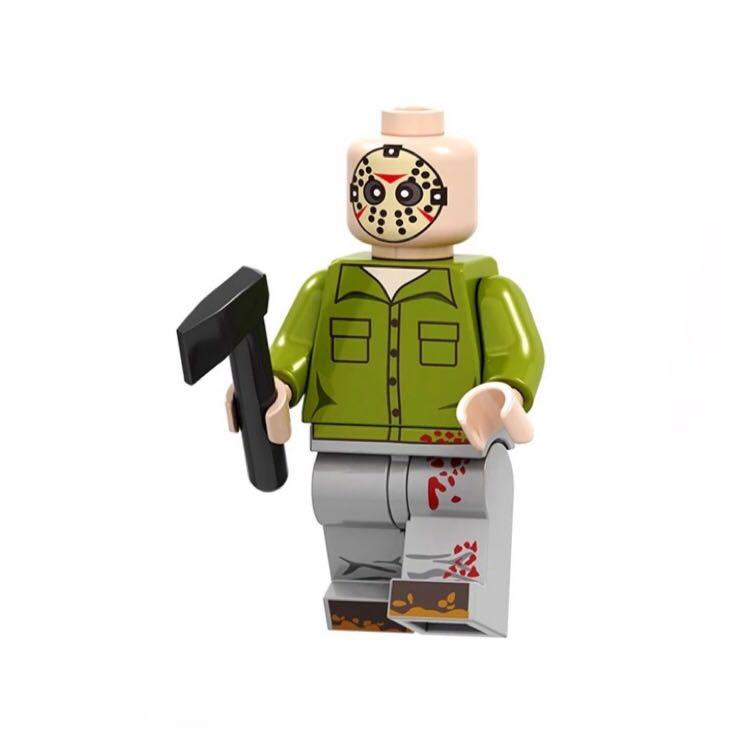 Jason Voorhees FridayThe13th Horror Minifigur Compatible Set
