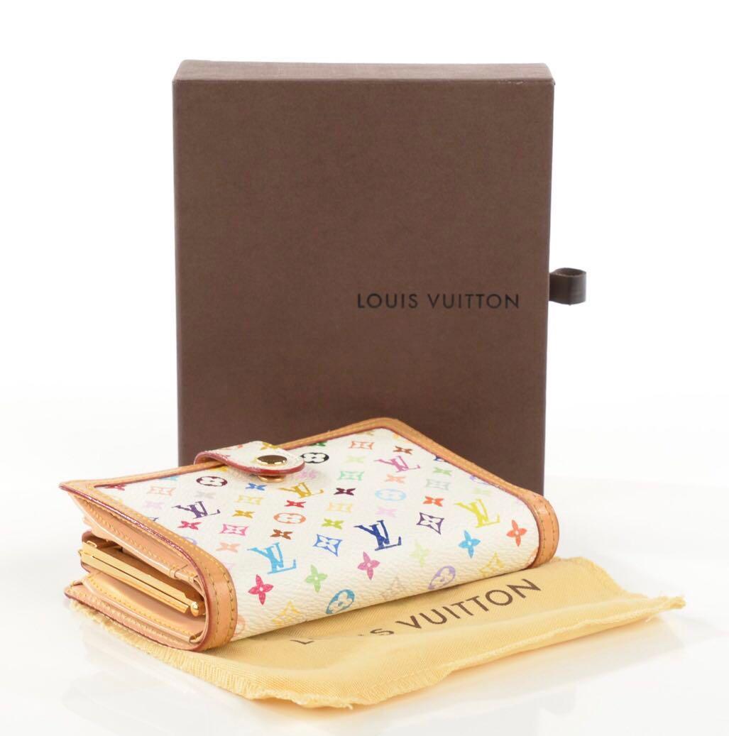 Louis Vuitton French Purse Multicolor