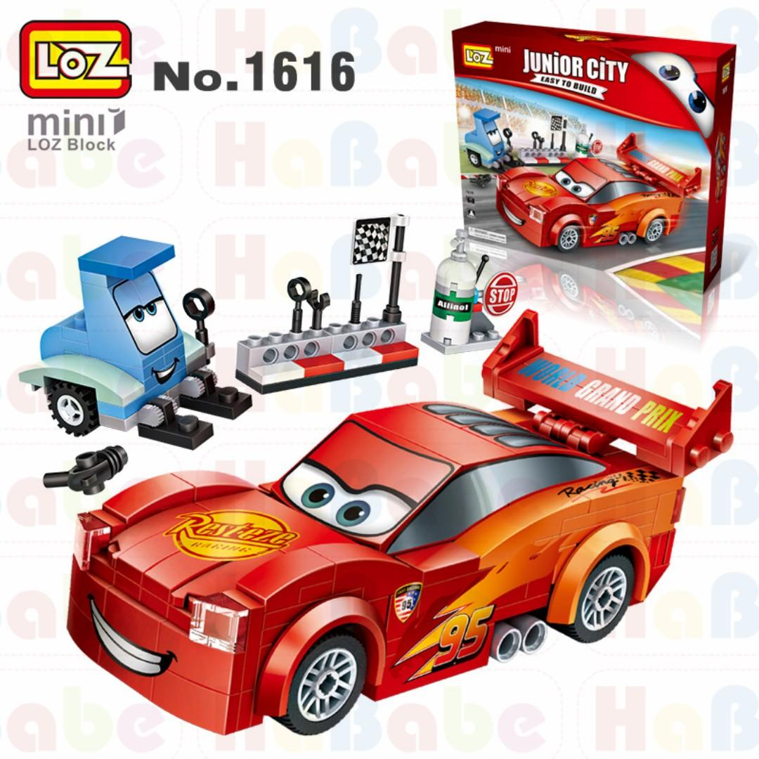 Loz Mini Block Brickheadz Disney Pixar Cars Movie Characters Premium Quality Above 6yr Babies Kids Toys Walkers On Carousell